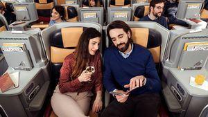 Crece la satisfacción de los pasajeros de Alitalia