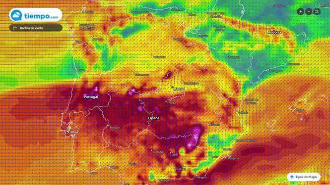 Estamos viviendo el temporal más potente de los últimos años en España