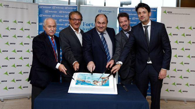 Air Europa inaugura su nueva ruta a Fortaleza