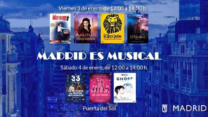 La Puerta del Sol se convierte en un escenario para musicales