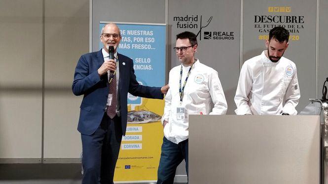 Madrid Fusión celebró un taller con Fran Martínez organizado por Crianza de Nuestros Mares