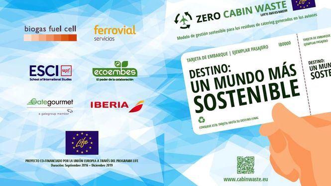 En 2019 se reciclaron más de 2.250 toneladas de envases en los vuelos de Iberia