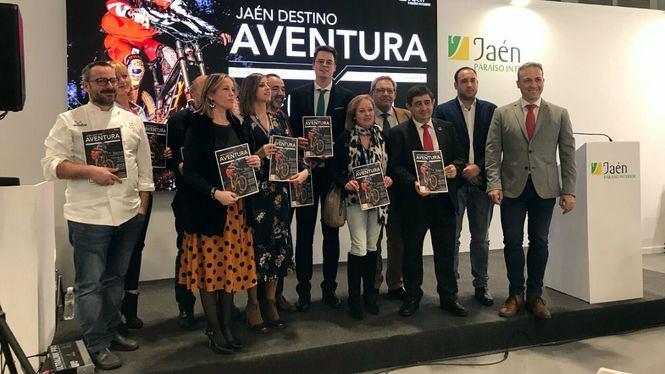 Fitur acoge el lanzamiento del segundo número de la revista Jaén Destino Aventura