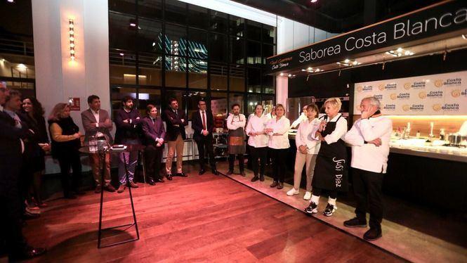La Costa Blanca muestra en FITUR su potencial gastronómico