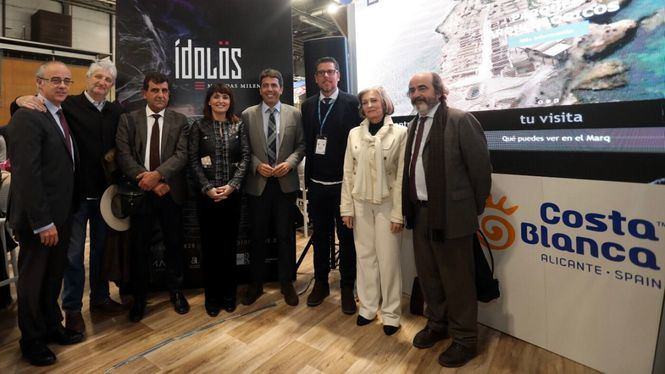 El MARQ presenta en FITUR la exposición Ídolos, con singulares piezas de la Prehistoria