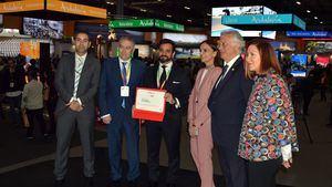 Andalucía recibe el premio al expositor sostenible en Fitur