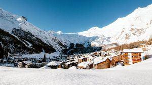 Enero - Saas Fee, Suiza