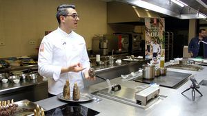 Javier Chozas descubre los secretos de la Carne de Caza Silvestre a los estudiantes de Hostelería y Turismo de Madrid