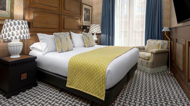Cena para dos y noche de hotel en uno de los hoteles con más romanticismo de Madrid
