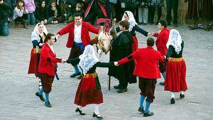 Fiesta del Escarrete, una tradicional fiesta de la localidad burgalesa de Poza de la Sal