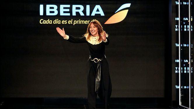 Los nuevos uniformes de Iberia diseñados por Teresa Helbig en MBFWM