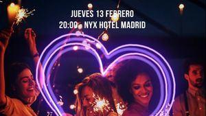 NYX Hotel Madrid organiza el jueves 13 de febrero un afterwork, muy especial: San Solterín