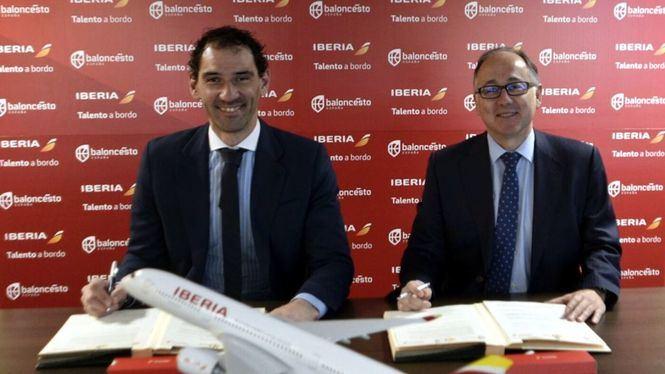 La Selección Española de Baloncesto tendrá un A350 de Iberia con su nombre