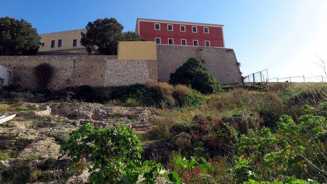 El solar del antiguo hospital medieval de Dalt Vila aspira a convertirse en un parque arqueológico