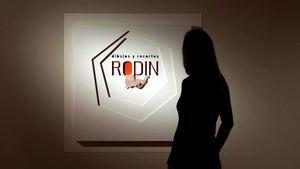 Rodin, dibujos y recortes