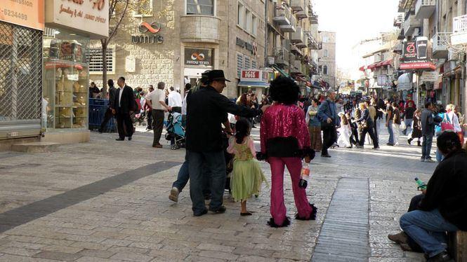 Purim, desfile que se celebra en Holon, al sur de Tel Aviv