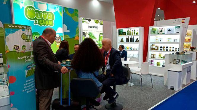 Aceitunas Torrent presenta en la feria Gulfood Dubái 2020 Oliva Clan, su nuevo producto