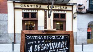 Cantina Singular, una tasca castiza y contemporánea en Malasaña