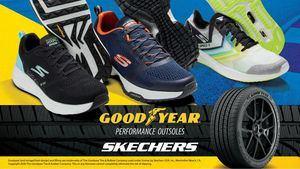 Skechers y Goodyear colaboran para hacer calzado de alto rendimiento