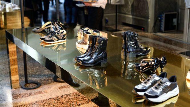 Presentación de la colección de Geox en Milán