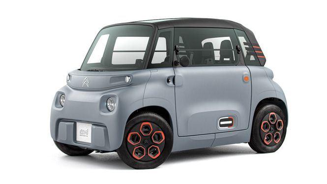AMI, un revolucionario objeto de movilidad 100% eléctrica accesible para todos