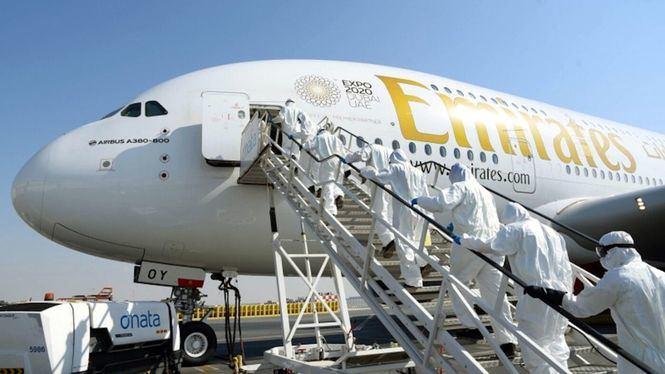 Emirates toma medidas adicionales de desinfección y limpieza
