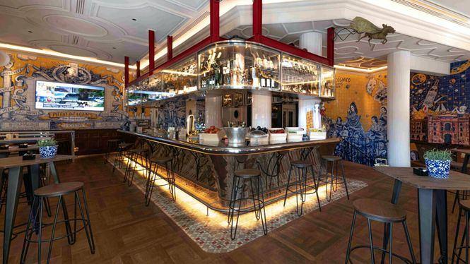 La taberna cañí de la Plaza de la Independencia, Patio de Leones, actualiza el concepto de tardeo