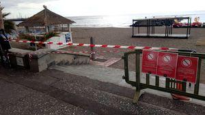 El Ayuntamiento de Adeje cierra las playas, paseos, zona de baño y zonas públicas de ocio
