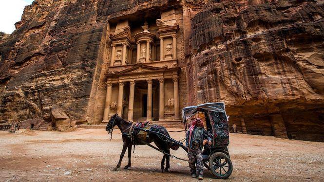 Visita virtual de Petra desde casa, con Rania de Jordania