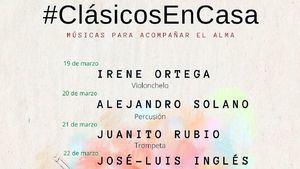 Clásicos en casa, música en domicilio desde Cartagena