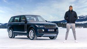 Anthony Joshua y Land Rover celebran el jubileo de oro del SUV de lujo