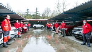 Jaguar Land Rover Iberia cede 18 vehículos todoterreno al Plan Cruz Roja RESPONDE
