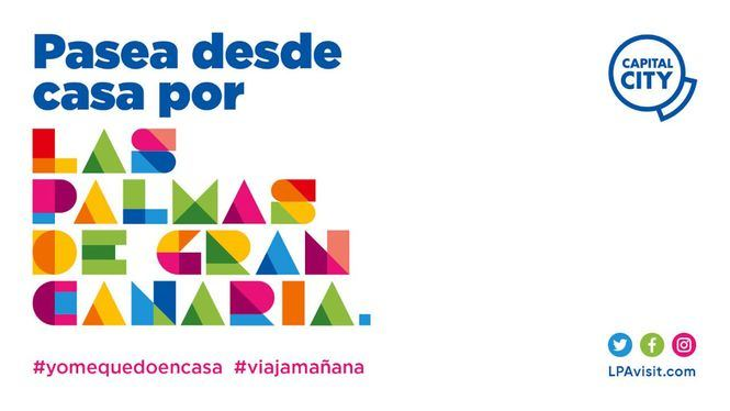 Paseos virtuales en redes sociales por Las Palmas de Gran