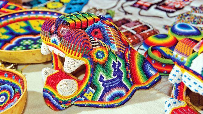 El Arte Huichol, reconocido como la mejor artesanía de México