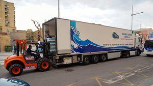 La empresa Ricardo Fuentes dona 22 toneladas de alimentos para familias necesitadas de Cartagena