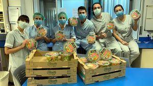 Florette dona ensaladas y material sanitario a hospitales, bancos de alimentos y comedores sociales