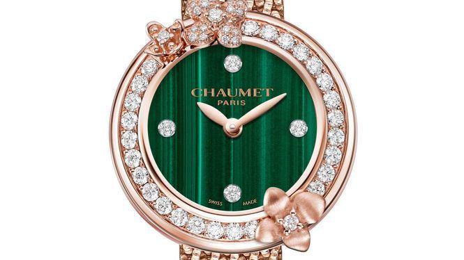 Chaumet presenta sus nuevas creaciones relojeras