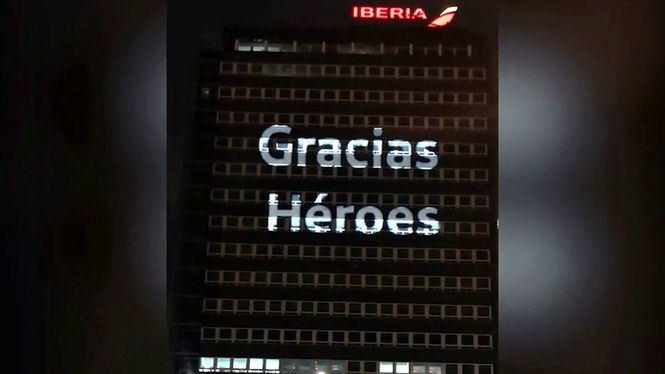 Homenaje de Iberia a todos los que luchan contra el COVID-19