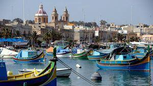 Colorear ilustraciones de Malta