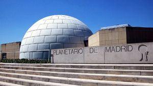 El Planetario de Madrid ofrece sesiones sobre astronomía en directo