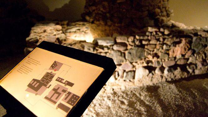 Yacimiento arqueológico del Museo Picasso Málaga