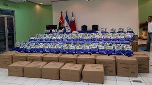 Llegan a España medio millón de mascarillas quirúrgicas como donación solidaria de Taiwán