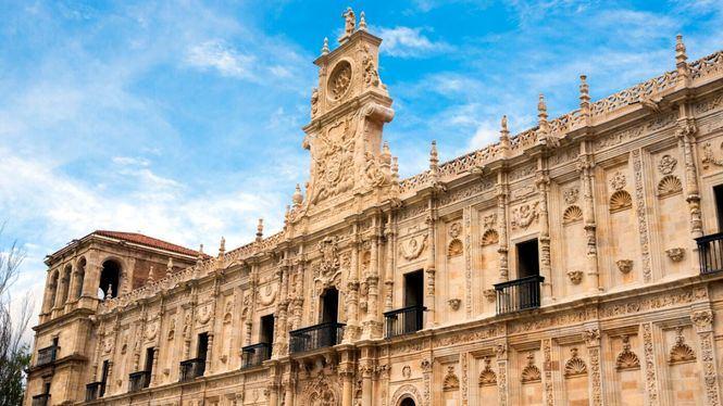 León, punto de salida y lugar de paso en la ruta jacobea del Camino Francés