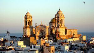 Puesta de sol en Cádiz - Catedral