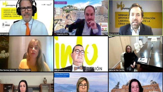 Encuentro digital en Cartagena sobre ayudas y herramientas ante la crisis del COVID19