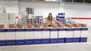 La Fundación Juan Peregrín dona alimentos y material sanitario