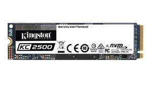 Kingston lanza el KC2500, el nuevo SSD de próxima generación