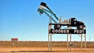 CooberPedy, capital del ópalo y de Mad Max