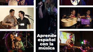 Aprende español con la música