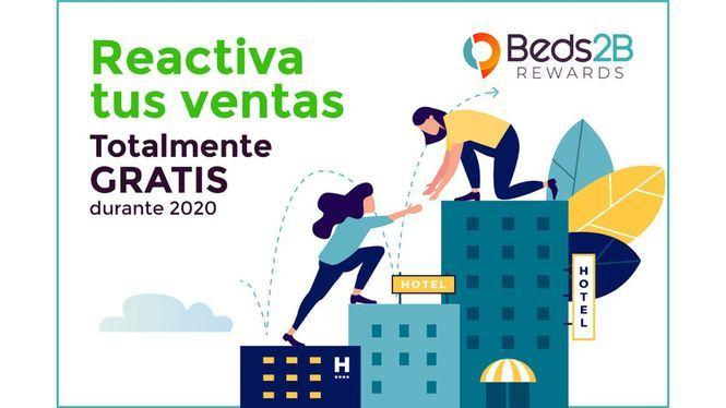 Beds2B Rewards ofrece sus servicios gratis a los hoteles durante 2020